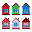 Vector houses — Stock Vector #14128468