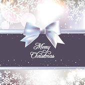 Vánoční lesklé pozadí abstraktní — Stock vektor