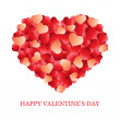 Valentine's Day card, banner — Stock Vector #17386385