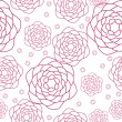 Vector seamless floral pattern — Stock Vector #17471219