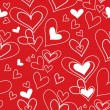 Royalty-Free Stock Vectorielle: Vector seamless pattern of heart