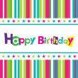 Stock Vector: Vector happy birthday