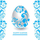 Vector Easter greeting card — Stock Vector