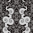 Vector seamless lace pattern - Stock Vector