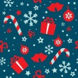 Royalty-Free Stock Vector Image: Seamless vector pattern Christmas