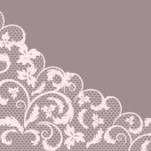 Vector lace — Stock Vector