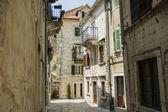 Ulice, kotor, czarnogóra — Zdjęcie stockowe