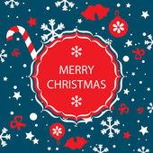 Frohe weihnachten-banner-vektor — Stockvektor
