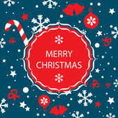 Merry christmas banner vector — Stockvector