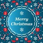 Merry Christmas banner vector — Stock Vector #29274145