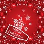 Merry Christmas banner vector — Stock Vector #29274147