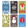 A set of vector Christmas cards — Stock Vector #29507109