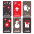 A set of vector Christmas cards — Stock Vector