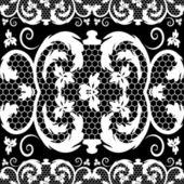Vector vintage lace — Stock Vector
