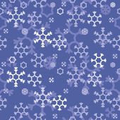 Vector abstract background with snowflakes — Stock Vector