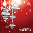 Vector abstract Christmas banner — Stock Vector #33078169