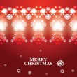 Vector abstract Christmas banner — Stock Vector #33078177