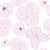 Vektor sömlös blommönster konsistens — Stockvektor