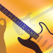 Abstract guitar — Stock Photo