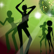 Party Crowd Dancing — Stockfoto