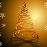Güzellik merry christmas tree — Stok fotoğraf