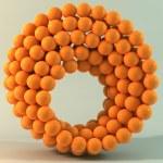 Ring Of Spheres — Stock Photo