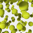 Stock Photo: Tennis balls