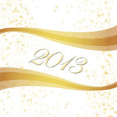 2013 Happy New Year greeting card — Stock Photo
