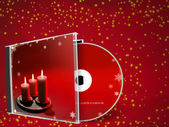 Christmas CD — Stock Photo