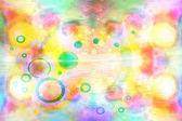 Kolorowe krople — Zdjęcie stockowe