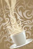 Kahve illüstrasyon — Stok fotoğraf
