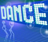Dance POP Illustration — Stock Photo