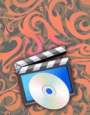 CD cover design. — Stock Photo