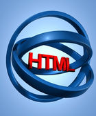 Html In Stargate — Stock Photo