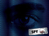Spy eyes — Stock Photo