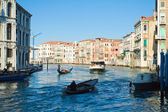 Famous Canal Grande in Venice, Italy — Stock Photo