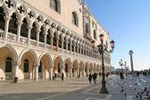在威尼斯的中央广场 — 图库照片