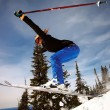 Snowboarder jumping — Stock Photo #39233737