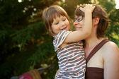Mutlu anne ve bebek — Stok fotoğraf