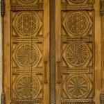 Wooden doors — Stock Photo #8089226