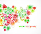 Floral abstract background — Wektor stockowy