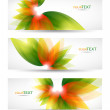 Royalty-Free Stock Vector Image: Abstract vector  headers with place for your text