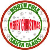 Merry Christmas — Vetorial Stock