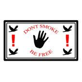 Dont smoke — Stock Vector