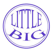 Little big — Stockvektor