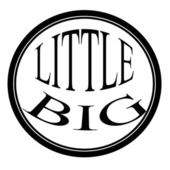 Little big — Stock Vector