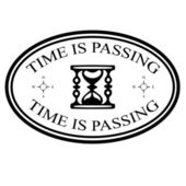 Time is passing — Stock Vector