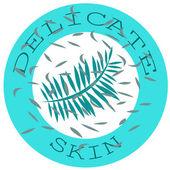 Delicate skin — Stock Vector