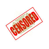 Censored — Stock Vector