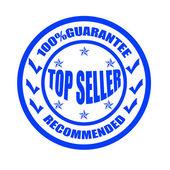 Top seller — Stock Vector